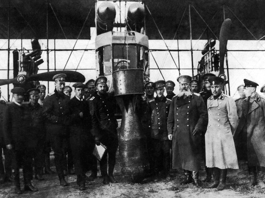 Создание Военного Воздушного Флота России и его развитие